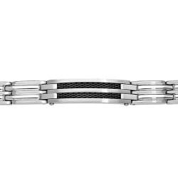 Bracelet acier PLAQUE IDD...