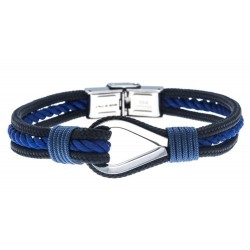 Bracelet acier pour homme -...