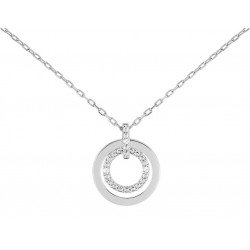 Collier or 9 carats Gris...