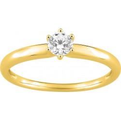 Bague or 9 carats jaune...
